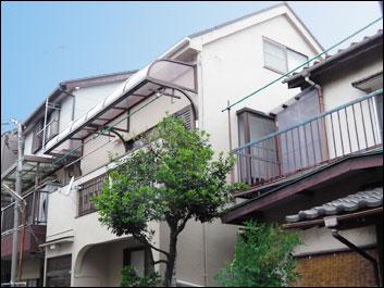 市川市 板金交換 外壁塗装 屋根塗装工事 施工後