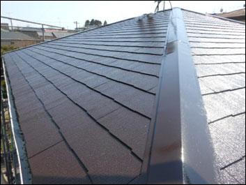 千葉市緑区 屋根塗装工事 施工後