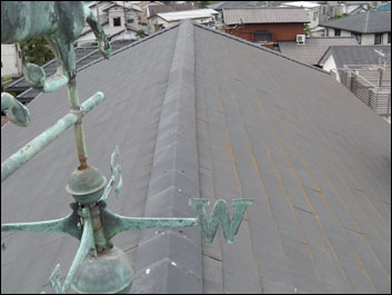 船橋市 屋根塗装 外壁塗装 施工前