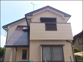 印旛郡栄町 外壁塗装 屋根塗装 施工後