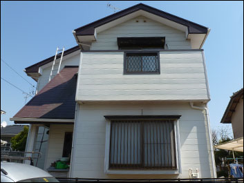 印旛郡栄町 外壁塗装 屋根塗装 施工前