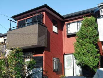 千葉市中央区 屋根塗装 外壁塗装 施工後