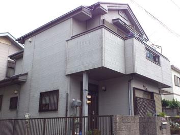 千葉市 屋根塗装 外壁塗装 施工前