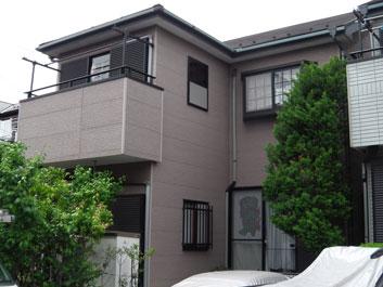 千葉市中央区 屋根塗装 外壁塗装 施工前