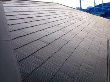 印西市 屋根塗装 施工後