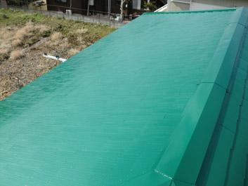 大網白里市 屋根塗装 施工後