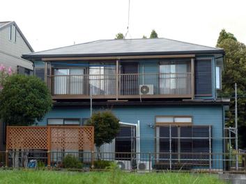 印旛郡酒々井町 屋根カバー 外壁塗装 雨樋交換 施工後