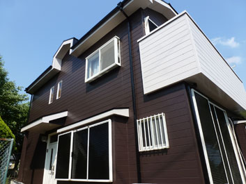 山武市 外壁塗装 屋根塗装 施工後