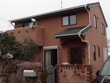 旭市 屋根塗装 外壁塗装 施工前