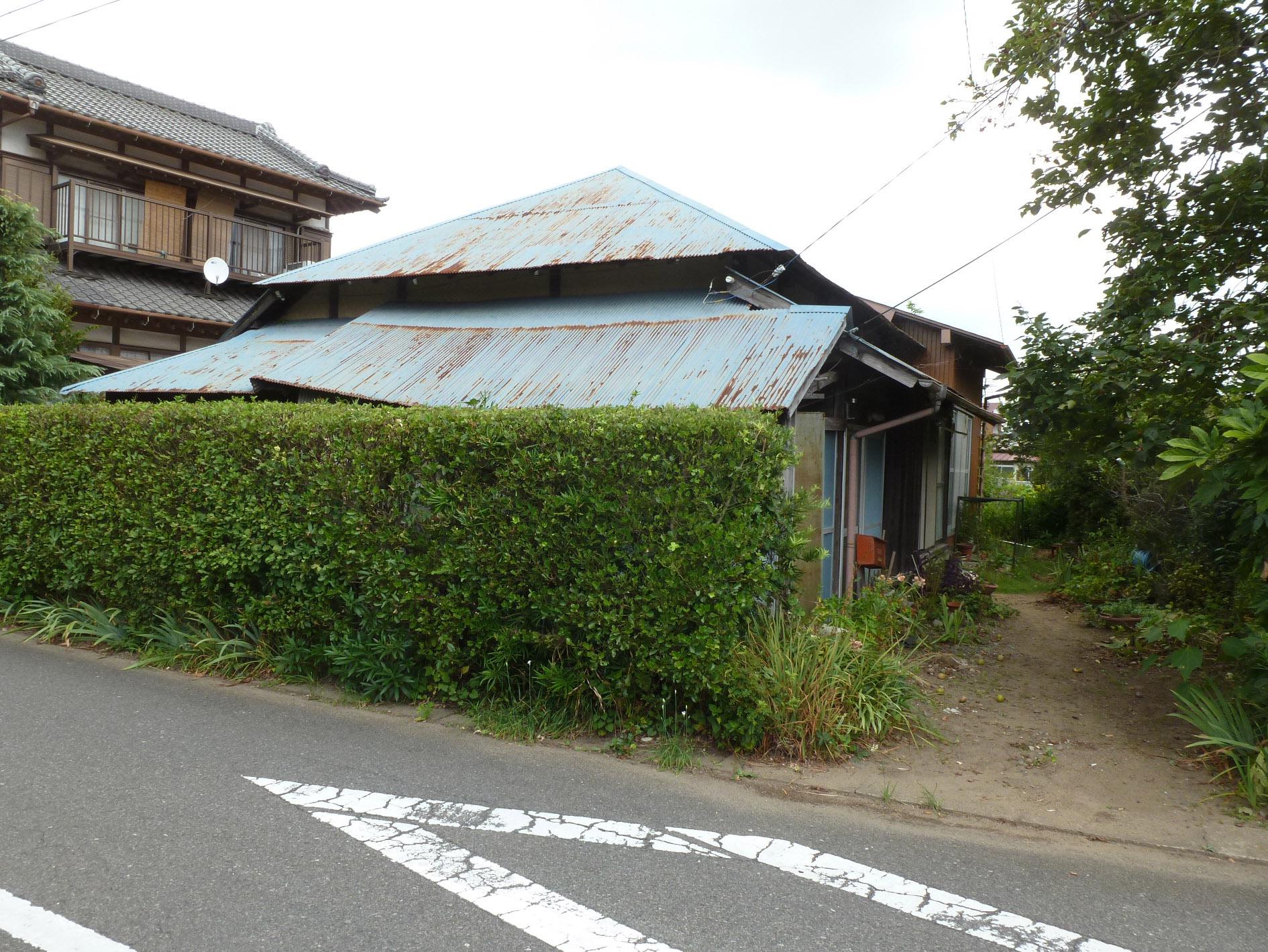 香取郡神崎町 屋根葺き替え 屋根カバー 施工前