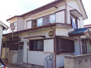 館山市 外壁塗装 擁壁塗装 施工前