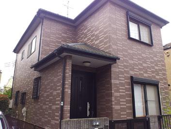 八千代市 外壁塗装 屋根塗装 施工前
