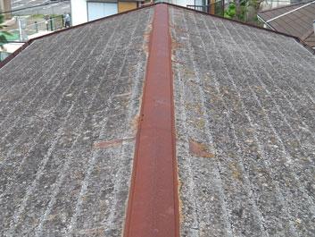 千葉市花見川区 屋根塗装 施工前